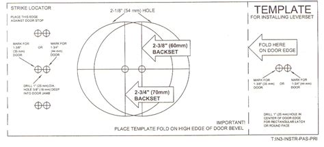 Trilock Template by Door Knob Hole Template Google Search Ideas For The