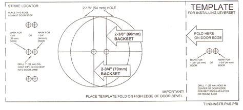 trilock template door knob hole template google search ideas for the