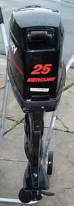 Mercury 25 Hp Remote Outboard