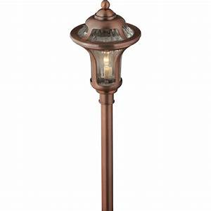 shop portfolio landscape copper low voltage path light at With low voltage outdoor lighting vancouver