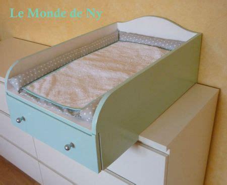 commode d angle pour chambre table à langer pour commode malm ikea chambre bebe
