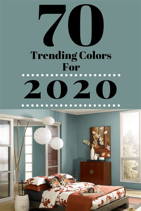70 Amazing Colors 2020 Forecast Color Trends For The