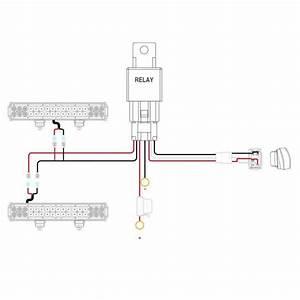 Nilight 14awg Led Wiring Harness W  5pin Waterproof Rocker