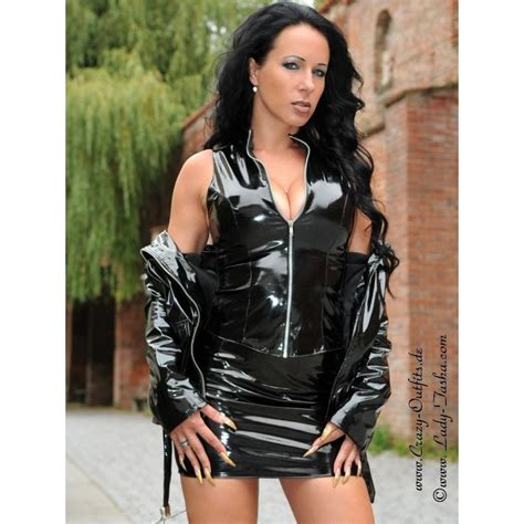 Vinyl skirt DS-500V  Crazy-Outfits - webshop for leather clothing shoes and more.