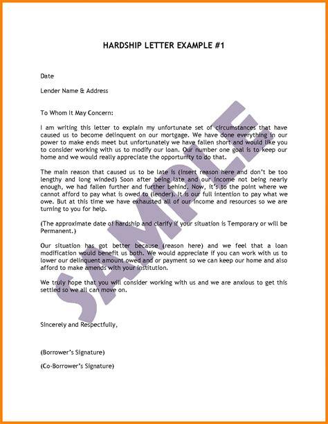 hardship letter samples writing  effective hardship letter