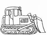 Digger Construction Coloring Colouring Popular sketch template