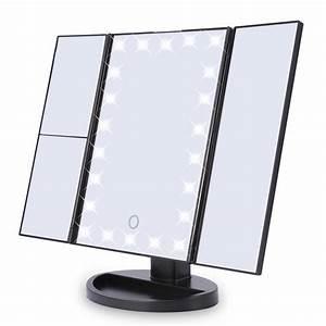 Make Up Spiegel : make up spiegel met led verlichting en touch tradeshop onlinehandel ~ Orissabook.com Haus und Dekorationen