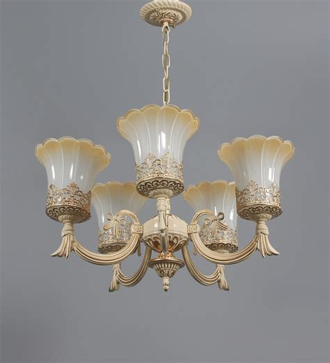 Brown Chandeliers by Buy Hlett Chandelier In Brown White By Amberville