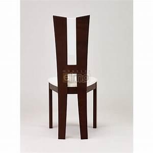 chaise salle a manger moderne hetre massif de france flora With chaise moderne de salle a manger pour petite cuisine Équipée
