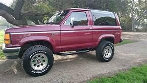 1989 Ford Bronco Ii Xl Rust Free Classic Rare 5 Speed 4x4