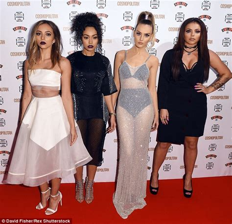 Jesy Nelson leads Little Mix's sexy red carpet display at ...