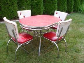 vintage 1950 s kitchen table chairs