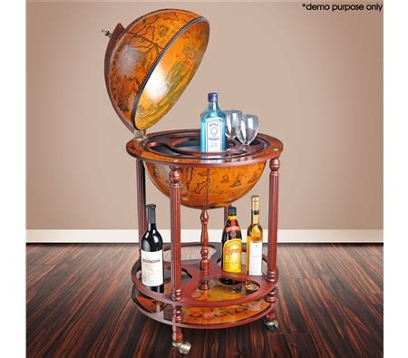 Globe Liquor Cabinet Australia deluxe antique globe bar cabinet drink trolley sales