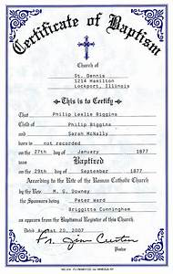 Catholic baptismal certificate new calendar template site for Catholic baptism certificate template