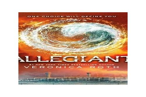 allegiant ebook download epub
