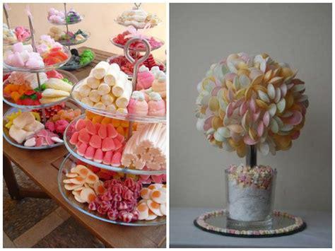 decoration avec des bonbons decoration de table originale pour mariage photo de mariage en 2017