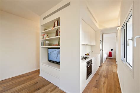 cuisine compacte ikea small apartment in tel aviv with functional design