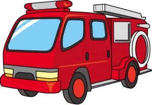 Cartoon Fire Engine Clip Art