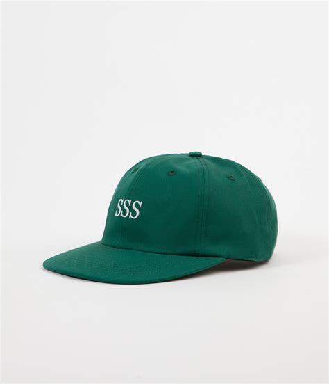 Stanton Street Sports Sss Liberty Polo Cap  Forest Green