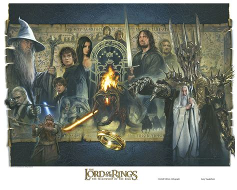 The Fellowship Becomes Fine Art  Hobbit Movie News And
