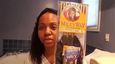 Wet & Wavy Human Hair