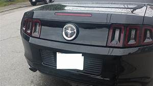 2014 Rear Deck Lid Paint  Black