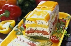 Decoration Legumes Facile : terrine de poivrons au fromage blanc de ch vre ~ Melissatoandfro.com Idées de Décoration