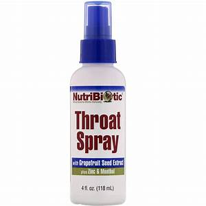 Nutribiotic  Throat Spray With Grapefruit Seed Extract Plus Zinc And Menthol  4