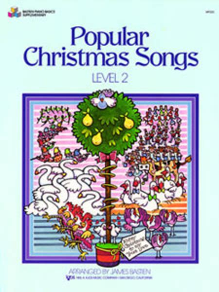 Popular Christmas Songs, Level 2 Sheet Music By James Bastien  Sheet Music Plus