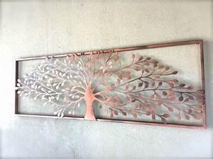 Arbre De Vie Decoration Murale : d coration murale m tal arbre bricolage maison et d coration ~ Teatrodelosmanantiales.com Idées de Décoration