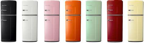 cuisine comera big chill le frigo usa vintage refrigérateur design et moderne