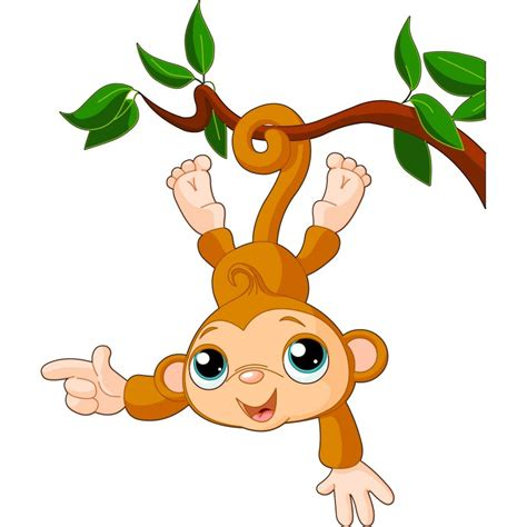stickers high pour chambre stickers enfant singe liane déco stickers