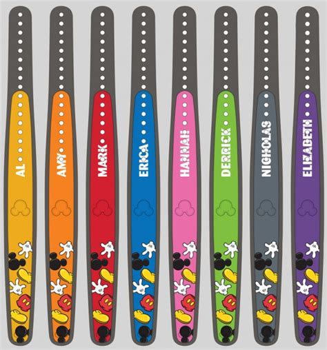 disney bands colors customized magicbands will soon be available at the magic