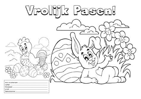 Boomstronk Kleurplaat by Kleurplaten Pasen Pdf