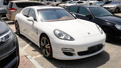 The fact that four people can appreciate a sporty yet comfortable drive in the panamera is already old news in the automotive luxury class. Porsche Panamera 4S With Turbo S Badge for sale: AED 165,000. White, 2012