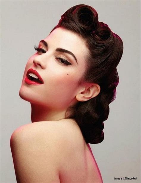 1950s Hairstyles And Makeup by 1950s Hairstyles