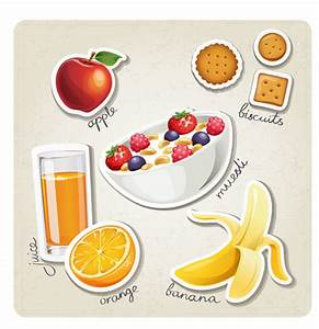 Different breakfast food vector icons material 04 - Food ...