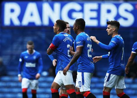 Rangers Player Ratings Vs Dundee United - The 4th Official