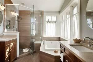Salle De Bain Douche Et Baignoire : la petite baignoire d 39 angle est la princesse de votre ~ Preciouscoupons.com Idées de Décoration