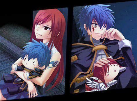 erza  jellal fairy tail anime photo  fanpop