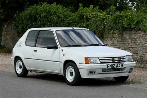 peugeot 205 rally 1989 peugeot 205 rallye classic car auctions