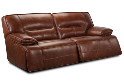 Leather Power Sofa by Leather Power Reclining Sofa At Gardner White