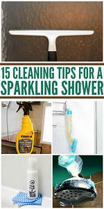 15 cleaning tips for a sparkling shower With best cleaning tips for bathrooms
