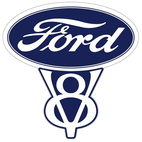 ford old logo vintage ford racing decals