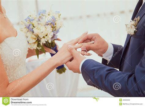 wedding rings stock photo image 40920002