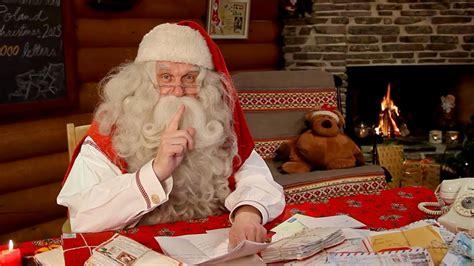 la felicitacion de navidad de papa noel santa claus