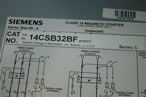 siemens motor starter wiring diagram impremedia net