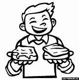 Butter Peanut Sandwich Coloring Tuna Drawing Getdrawings sketch template