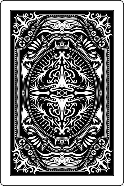 playing card  side  mm stock vector