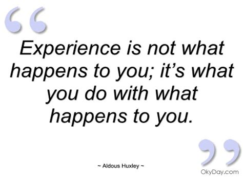 What You Learnt From Your Work Experience by Experience Quotes Image Quotes At Relatably